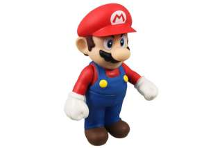 Nintendo Super Mario Bros Luigi Action Figure Toy Red