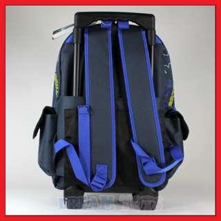 16 Batman Rolling Backpack Roller/Bag/Wheeled/Boys
