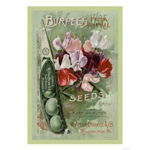 Burpees Farm Annual The Best Seeds That Grow Giclee Poster Print