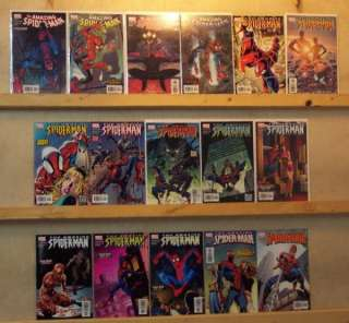 AMAZING SPIDER MAN Comic Book Lot 505 520 FULL RUN STRACZYNSKI