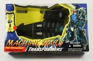 1996 TRANSFORMERS Beast Wars Machine Wars STARSCREAM MISB