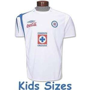 Cruz Azul 2007 Away YOUTH Soccer Jersey: Sports & Outdoors